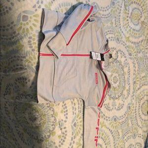 Girls adidas zip up jacket